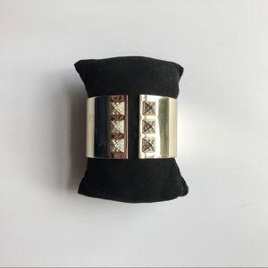 Gold Victoria's Secret Fashion Cuff Bracelet